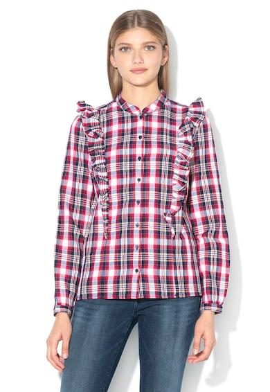 Big Star Карирана риза Seliga с набирания Жени