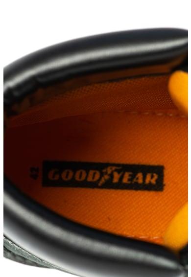 Goodyear Кожени боти с релефно лого Мъже