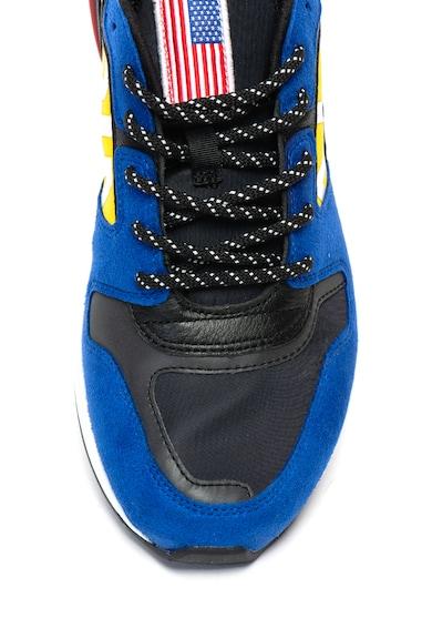 Polo Ralph Lauren Pantofi cu model coloblock si garnituri de piele intoarsa Barbati