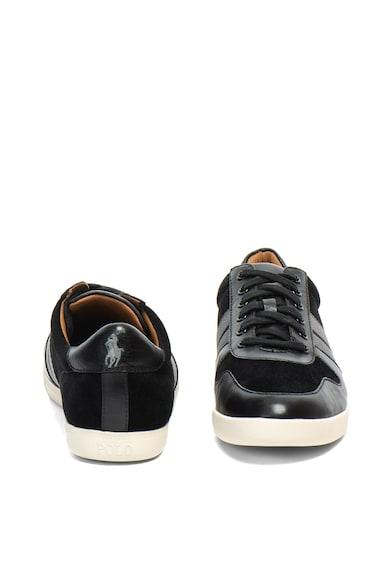 Polo Ralph Lauren Pantofi sport de piele si piele intoarsa Camilo Barbati