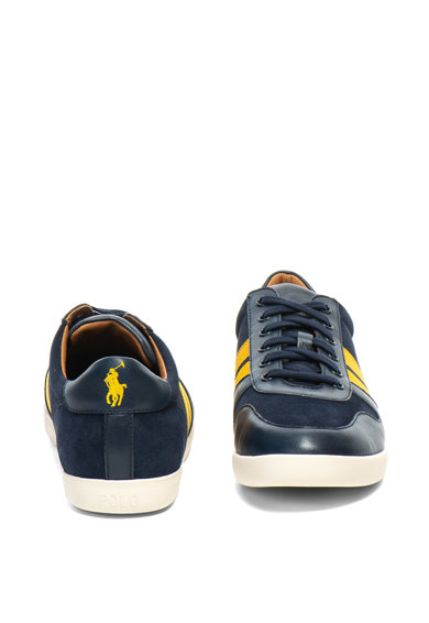 Polo Ralph Lauren Camilo nyersbőr sneakers cipő bőrbetétekkel férfi