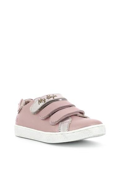 Mod8 kids Pantofi sport de piele cu benzi velcro Fete