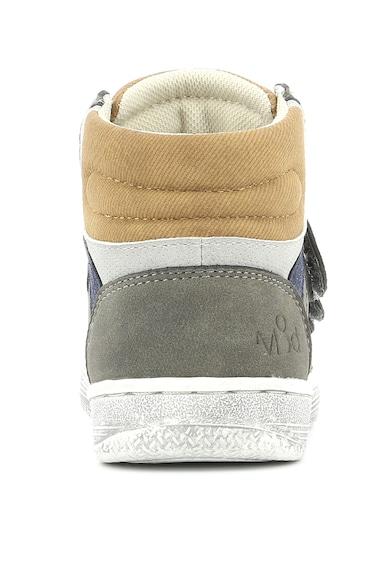 Mod8 kids Pantofi sport hi-top de piele intoarsa ecologica Baieti