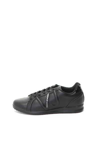 Versace Jeans Pantofi sport de piele ecologica Barbati