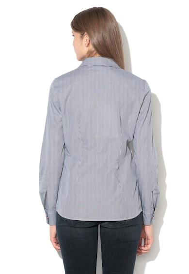 Love Moschino Kockás ing szív alakú patentos rögzítéssel női