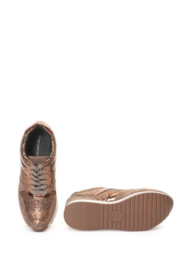 Francesco Milano Pantofi sport cu insertii stralucitoare Femei