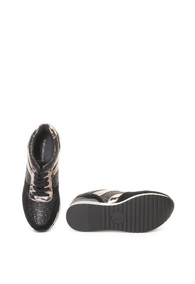 Francesco Milano Pantofi sport cu detalii stralucitoare Femei