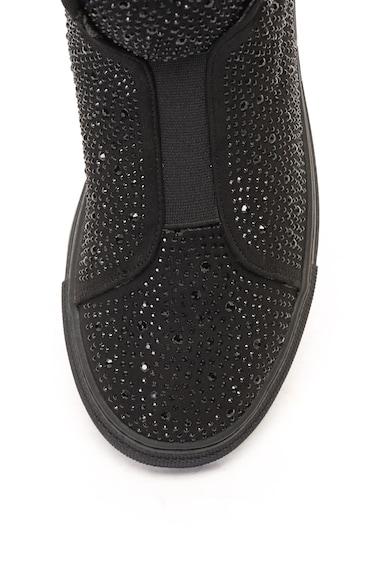 Francesco Milano Pantofi sport mid high decorati cu paiete Femei