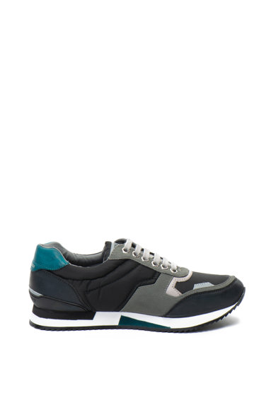 Gioseppo Pantofi sport de piele ecologica, cu detalii contrastante Barbati