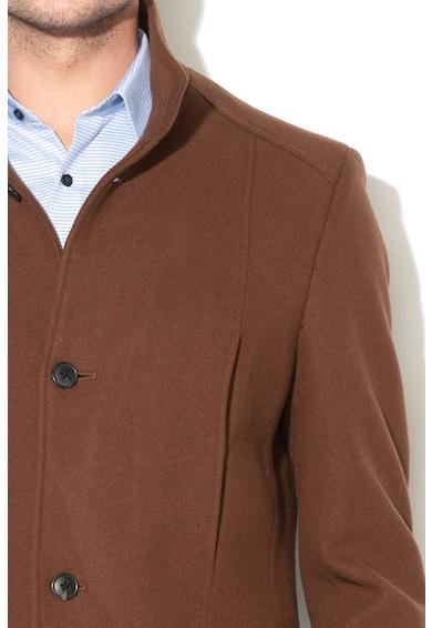 Mosto gyapjútartalmú kabát - Selected Homme (16063100-MONKS-ROBE) da93cb7249