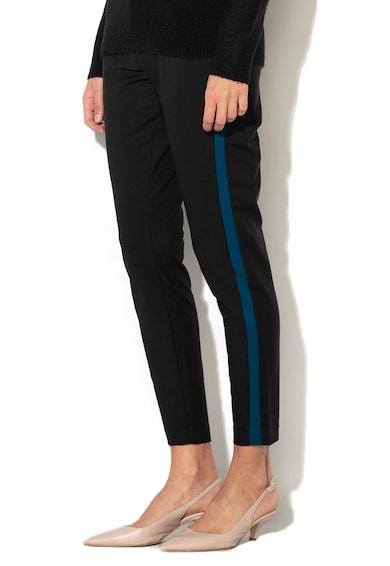 Vero Moda Pantaloni conici cu garnituri tubulare contrastante Victoria Femei