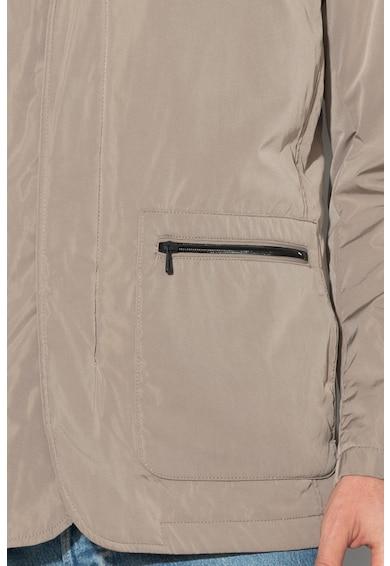 Geox Könnyű súlyú télikabát levehető kapucnival férfi