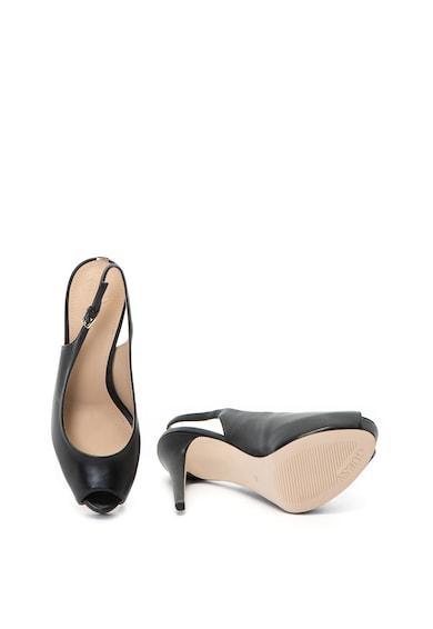 Guess Sandale de piele cu toc inalt Femei