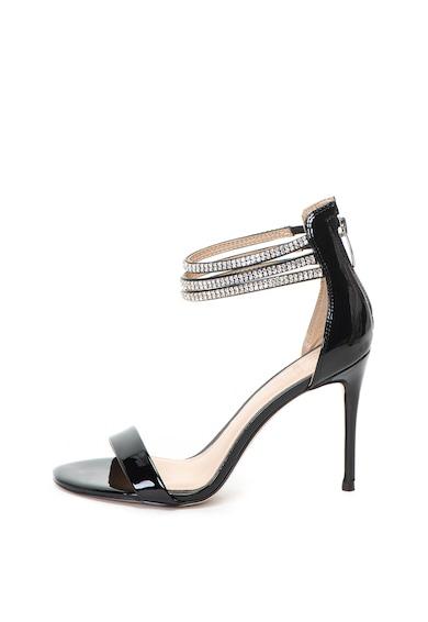 Guess Sandale stiletto de piele ecologica cu aspect lacuit Femei
