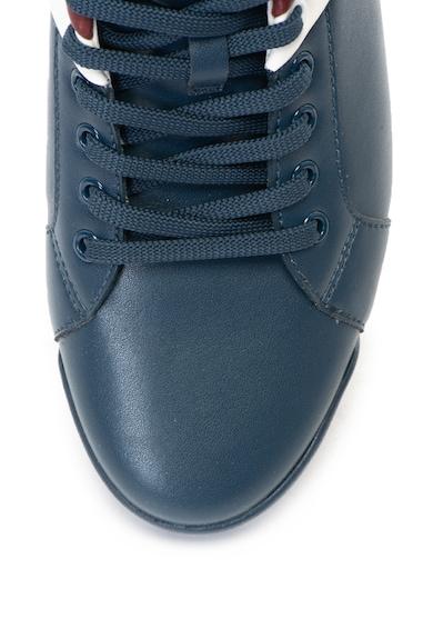 Guess Bőr sneakers cipő kontrasztos részletekkel férfi
