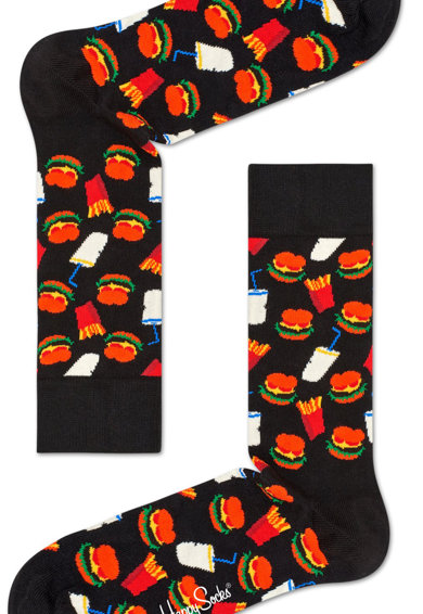 Happy Socks Унисекс дълги чорапи с фигурален десен Жени