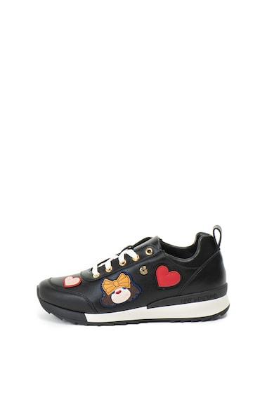 Love Moschino Спортни обувки от еко кожа с декорации Жени