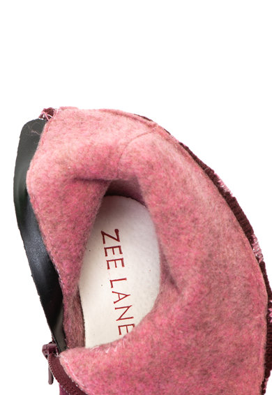 Zee Lane Ghete din piele nabuc cu partea superioara tricotata Fete