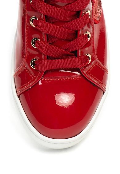 Love Moschino Спортни обувки от лачена еко кожа Жени