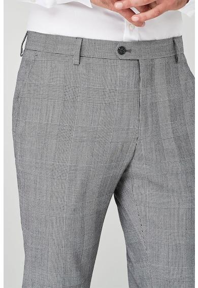 NEXT Slim fit gyapjútartalmú alkalmi nadrág férfi