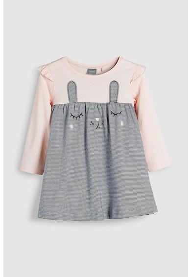 NEXT Bővülő fazonú ruha nyuszis dizájnnal Lány