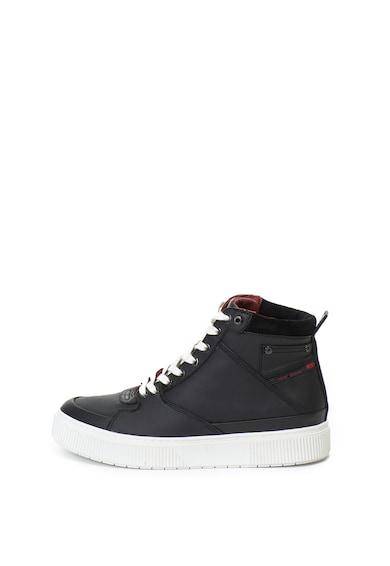 Diesel Danny magas szárú bőr sneakers cipő női