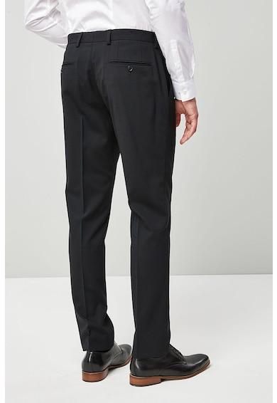 NEXT Pantaloni slim fit eleganti din amestec de lana 3 Barbati