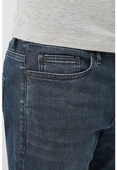 NEXT Slim fit farmernadrág mosott hatással férfi