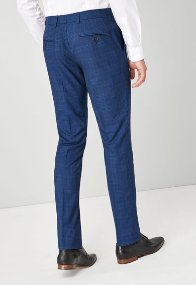 NEXT Pantaloni slim fit eleganti cu carouri Barbati