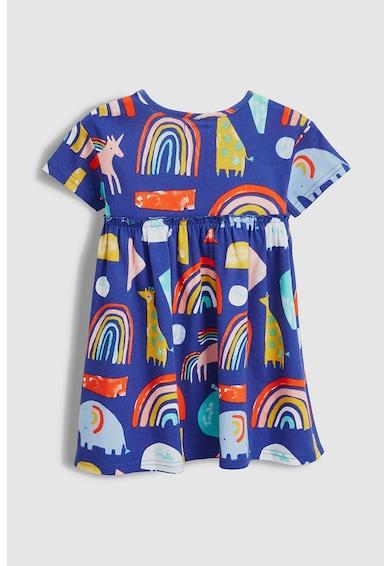 NEXT Grafikai mintás bővülő fazonú ruha Lány