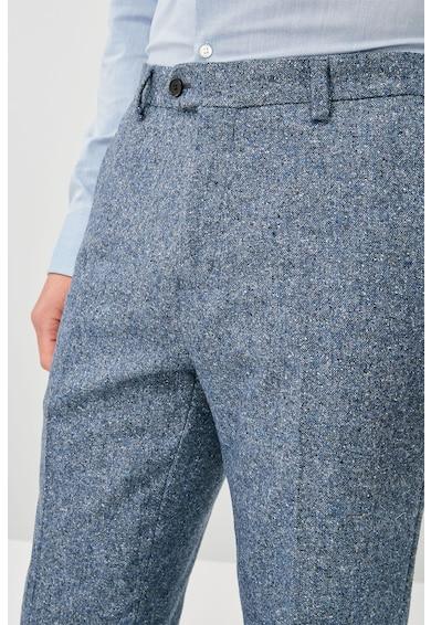 NEXT Pantaloni eleganti slim fit din amestec de lana Donegal Barbati