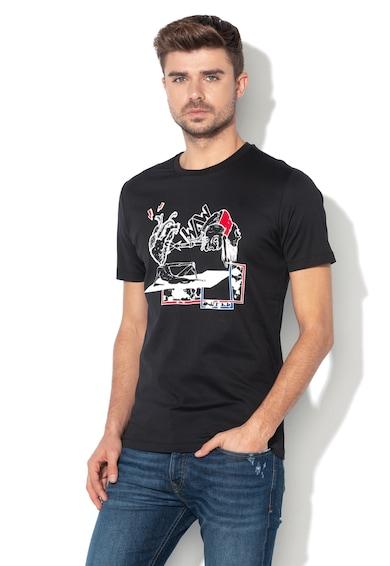 Diesel Black Gold Grafikai mintás póló férfi
