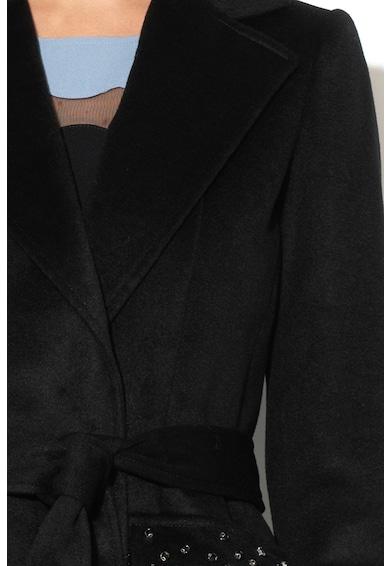 Pennyblack Haina lunga de lana, cu diverse detalii Affilato Femei