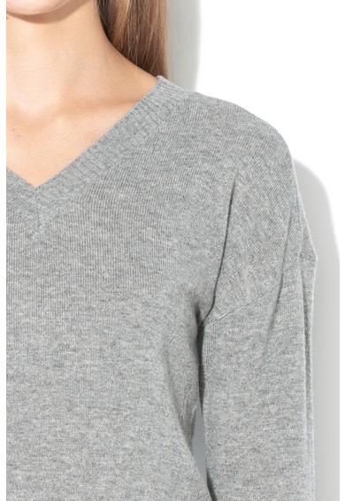 Pennyblack Pulover cu decolteu in V, din amestec de lana si casmir Odometro Femei