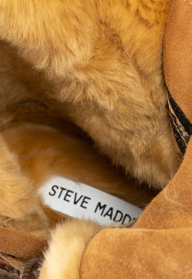 Steve Madden Велурени боти Tossup с вата от еко пух Жени