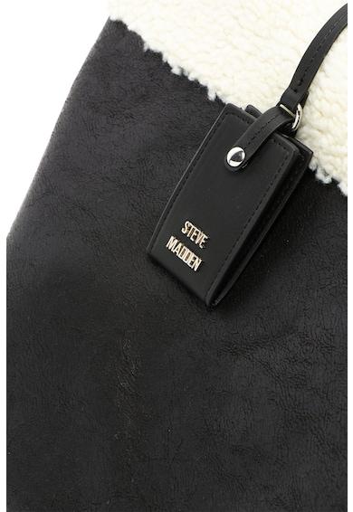 Steve Madden Geanta tote cu garnitura de blana shearling sintetica Carin Femei