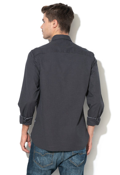 GUESS JEANS Texturált ing férfi