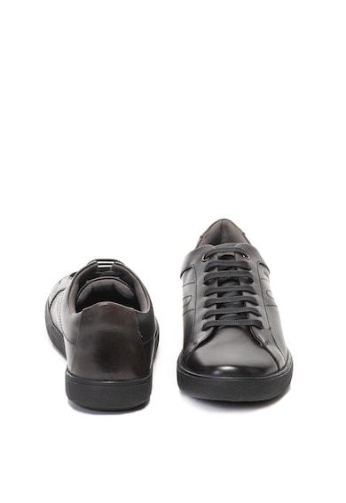 Geox Jharrod bőrcipő finom öltésekkel férfi