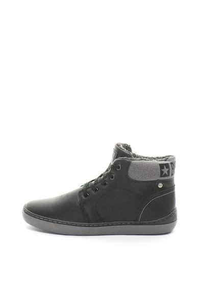 BIG STAR Pantofi sport mid-hi de piele ecologica Barbati