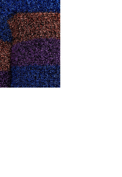 KOTON Pulover cu model in dungi si aspect stralucitor Femei