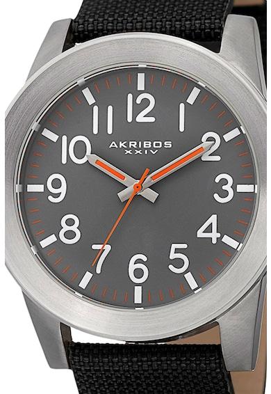 AKRIBOS XXIV Часовник с текстилна каишка Мъже