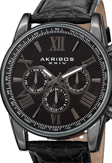 AKRIBOS XXIV Мултифукционален часовник с тахиметър Мъже
