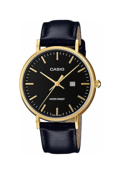Casio Часовник Retro Vintage с кожена каишка Жени