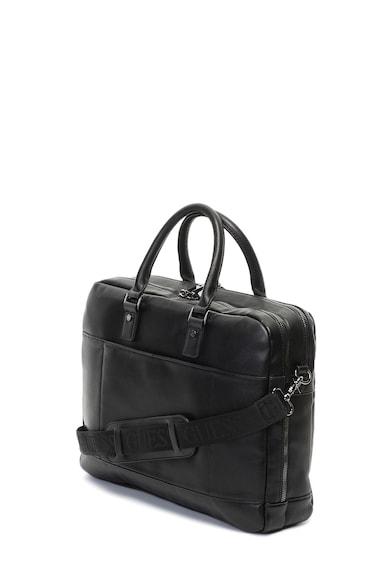 Guess Чанта от еко кожа с лого Мъже