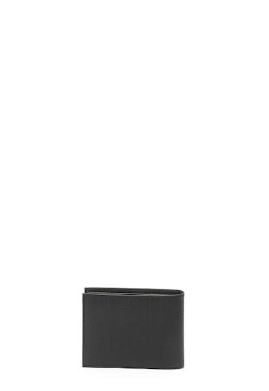Guess Portofel de piele saffiano ecologica Barbati