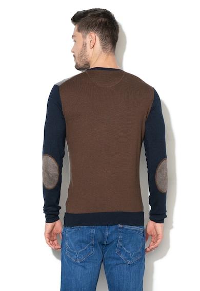 U.S. Polo Assn. Finomkötött pulóver hímzett logóval férfi