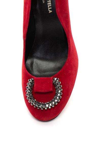 Roberto Botella Pantofi stiletto de piele intoarsa, cu strasuri Femei