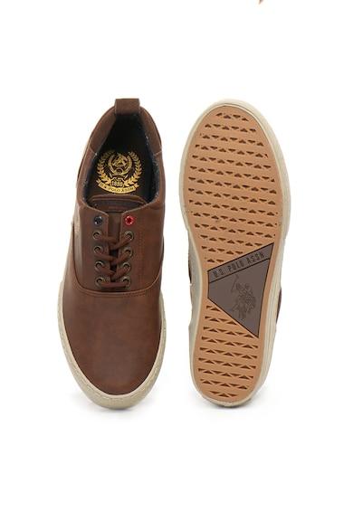 U.S. Polo Assn. Pantofi sport de piele ecologica Will Barbati