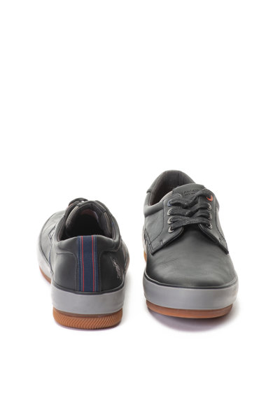 U.S. Polo Assn. Pantofi sport mid-high de piele ecologica Winston Barbati