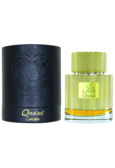 Lattafa Apa de Parfum  Qaa'ed, Unisex, 100 ml Femei
